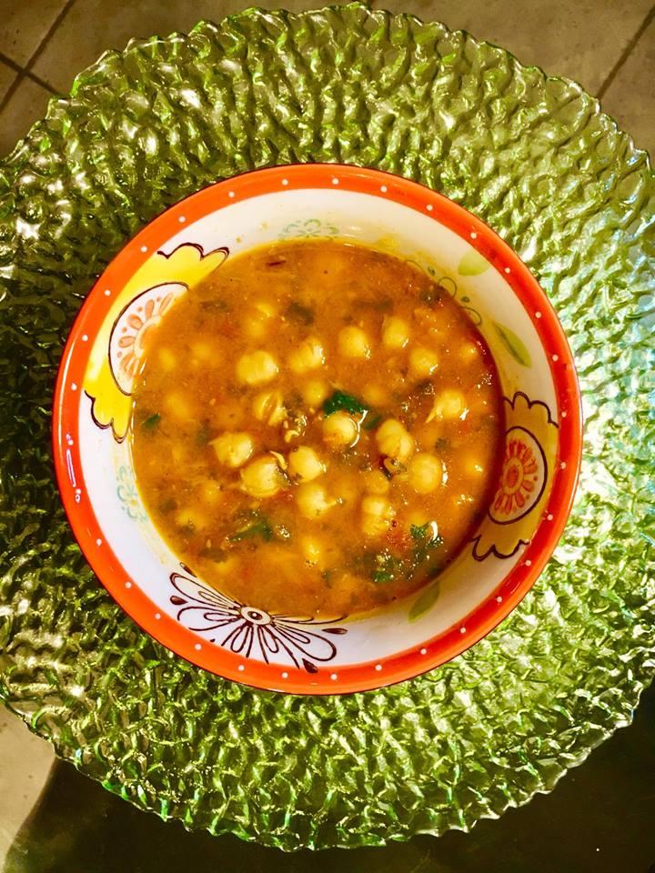 IP Chick Pea Tomato Soup
