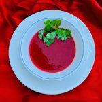 heart healthy tomato beet and bell pepper soup recipe