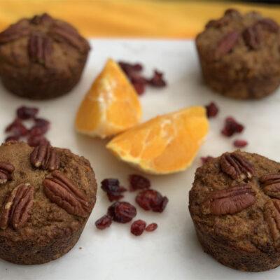 orange cardamom pecan muffin recipe weight loss