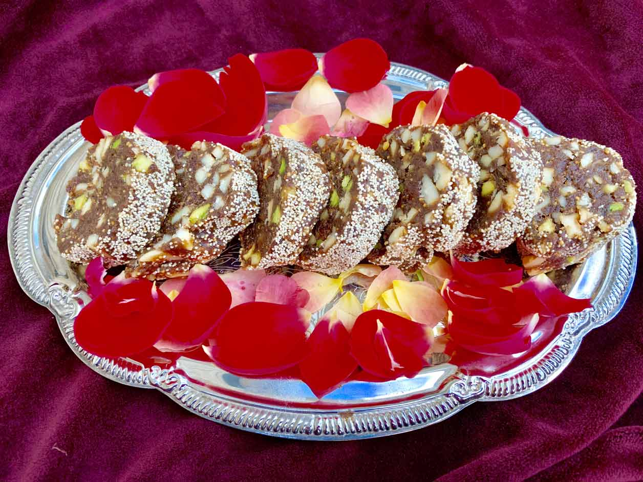Figs And Date Nut Rolls